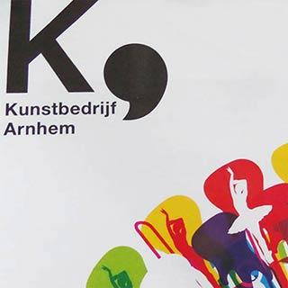 Nieuwe huisstijl Kunstbedrijf Arnhem