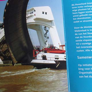 Bezoek Staatssecretaris aan projecten, Rijkswaterstaat Oost Nederland
